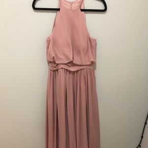 Women's JJ House Dusty Rose Floor-length Dress